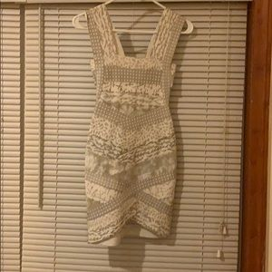 Like new condition Herve Leger dress size xs